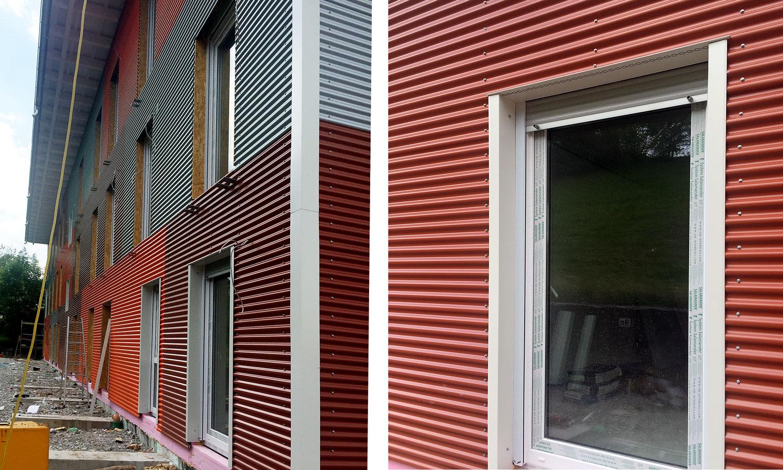 Glas-Herdabdeckplatte Ceranfeldabdeckung 2x40x52 Zweiteilig Abstrakte Wellen